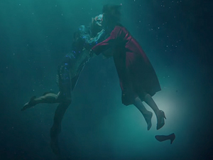 The Shape of Water, Fri, March 23 at 9:15 pm